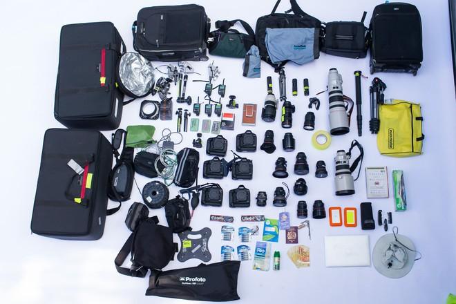 Cùng chiêm ngưỡng bộ gear khủng mà các nhiếp ảnh gia mang tới Olympics Tokyo - Ảnh 3.