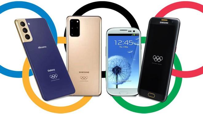 Điểm danh những chiếc điện thoại Samsung đã gắn liền với Olympic - Ảnh 1.