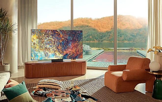 Vì sao tôi chọn nâng cấp lên TV Neo QLED 65 inch? - Ảnh 1.