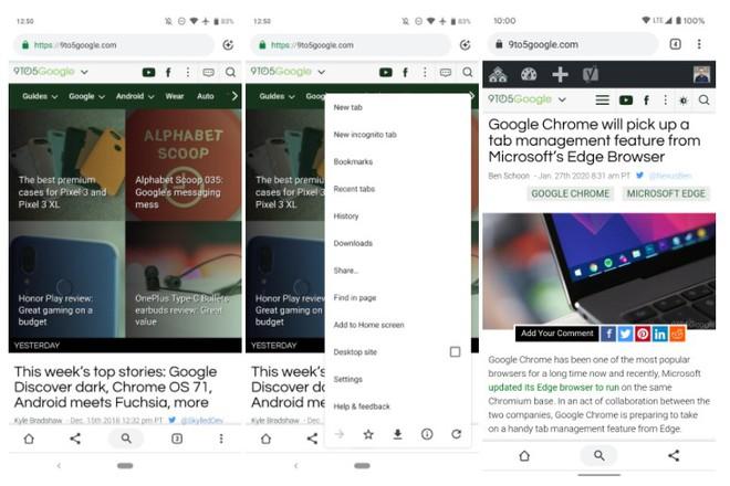 Hóa ra Google đã từng thử nghiệm giao diện tương tự Safari trên iOS 15, nhưng cuối cùng lại không tung ra cho mọi người dùng - Ảnh 3.