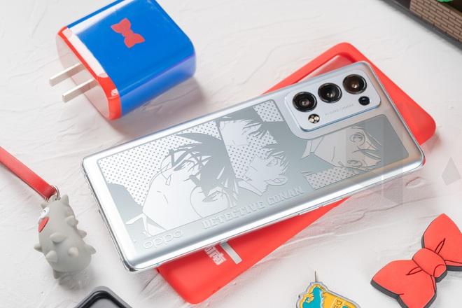 OPPO ra mắt Reno 6 Pro+ phiên bản Thám tử lừng danh Conan - Ảnh 2.