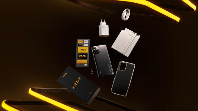 POCO X3 GT ra mắt tại VN: Dimensity 1100 5G, pin 5000mAh, sạc nhanh 67W, giá 7.99 triệu đồng - Ảnh 3.