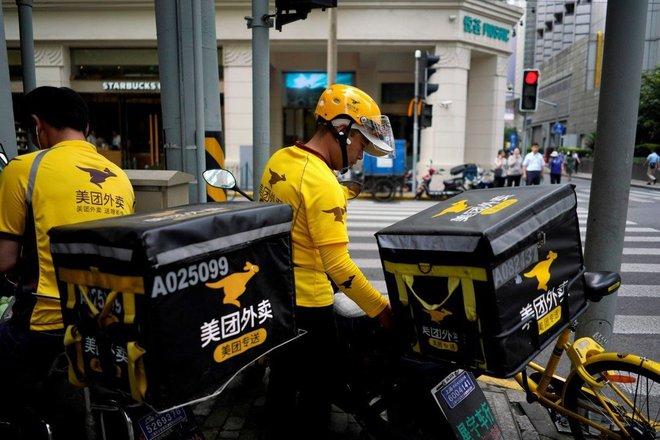 Trung Quốc bảo vệ tài xế giao đồ ăn - Ảnh 1.