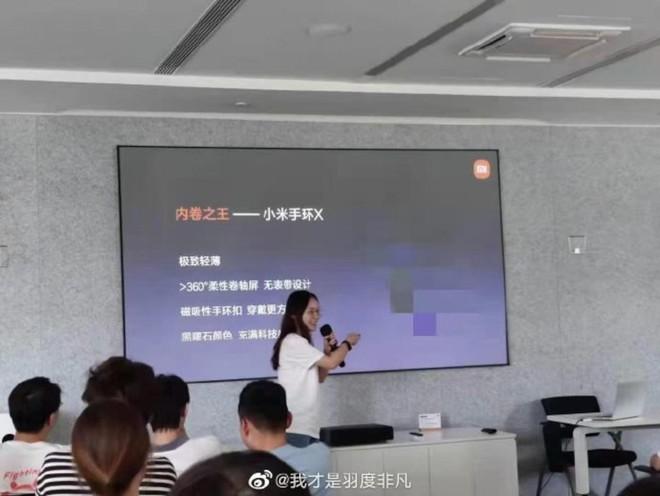 Xiaomi Mi Band X với màn hình 360 độ chuẩn bị được phát triển - Ảnh 2.
