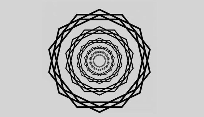 Đây là cách mà ảo ảnh này đã hack não bạn để nhìn thấy những tia sáng - Ảnh 1.