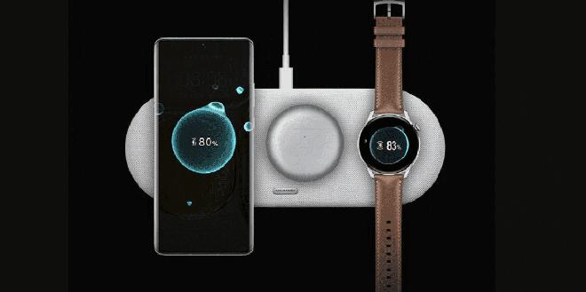Huawei ra mắt đế sạc không dây sạc được 3 thiết bị cùng lúc, giá gần 3 triệu - Ảnh 1.