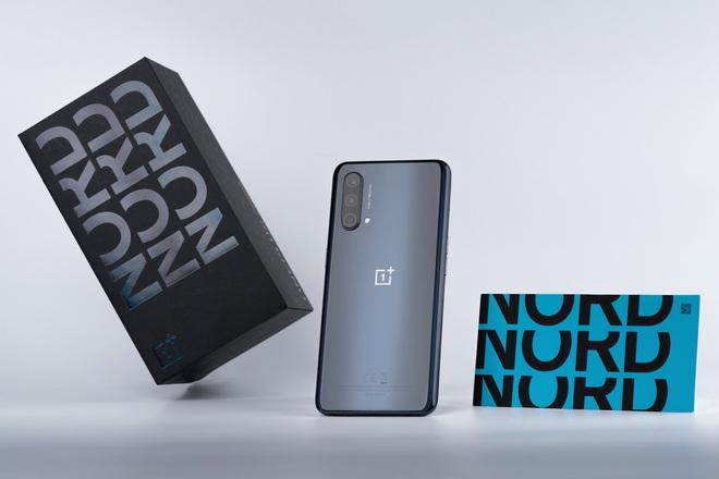 OnePus Nord CE 5G ra mắt tại VN: Màn hình 90Hz, Snapdragon 750G, pin 4500mAh, giá từ 7.99 triệu đồng - Ảnh 1.