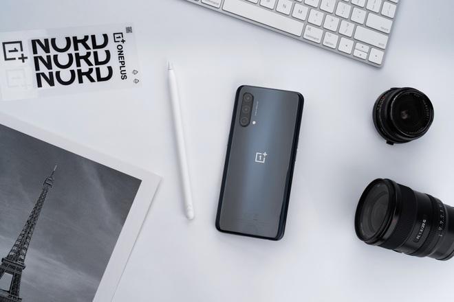 OnePus Nord CE 5G ra mắt tại VN: Màn hình 90Hz, Snapdragon 750G, pin 4500mAh, giá từ 7.99 triệu đồng - Ảnh 2.