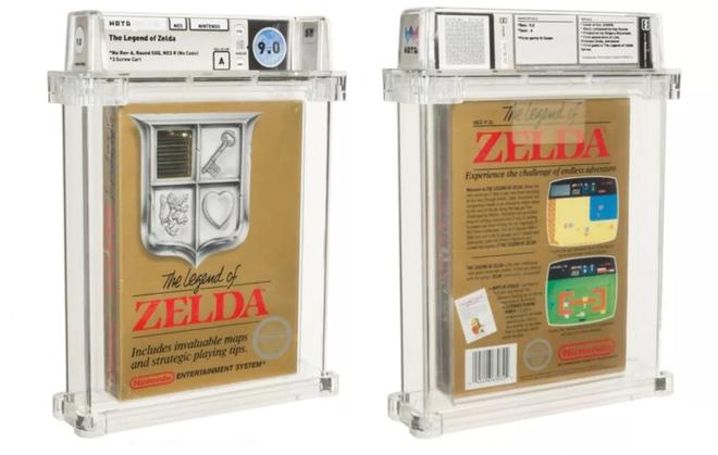 """Băng điện tử NES Legend of Zelda còn """"nguyên zin"""" được bán với giá hơn 2,5 tỷ VNĐ - Ảnh 1."""