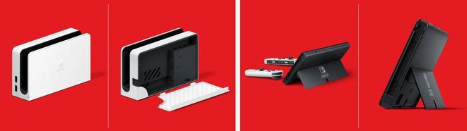 Nintendo ra mắt máy chơi game Switch phiên bản mới với màn hình OLED - Ảnh 3.