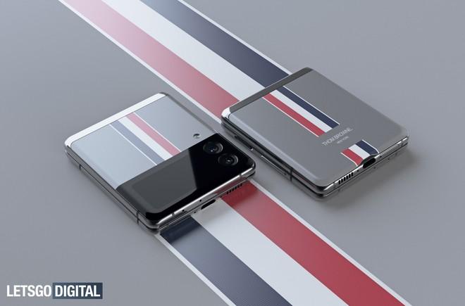 Đây là Galaxy Z Flip3 phiên bản Thom Browne giới hạn - Ảnh 1.