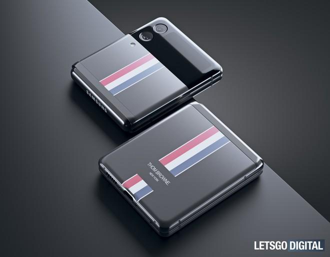 Đây là Galaxy Z Flip3 phiên bản Thom Browne giới hạn - Ảnh 3.