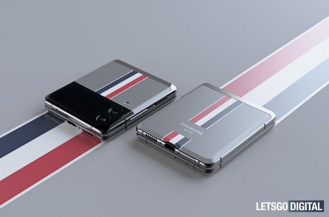 Đây là Galaxy Z Flip3 phiên bản Thom Browne giới hạn - Ảnh 4.