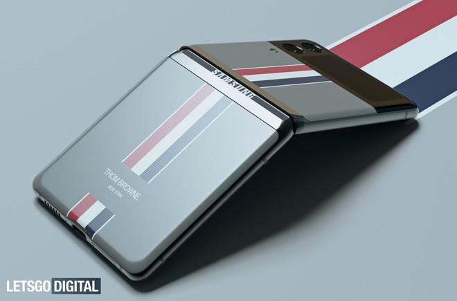 Đây là Galaxy Z Flip3 phiên bản Thom Browne giới hạn - Ảnh 5.