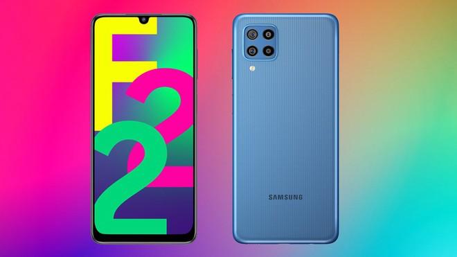 Samsung ra mắt Galaxy F22: Màn hình 90Hz, Helio G80, pin 6000mAh, giá từ 3.9 triệu đồng - Ảnh 1.