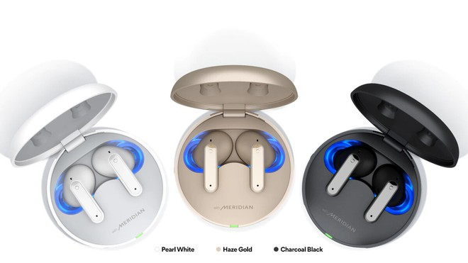LG ra mắt tai nghe Tone Free FP8, chống ồn chủ động, thời lượng pin ấn tượng, hộp sạc có khử trùng bằng tia UV, giá 180 USD - Ảnh 1.