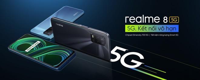 realme ra mắt smartphone 5G đầu tiên tại VN, giá 7.99 triệu đồng - Ảnh 1.
