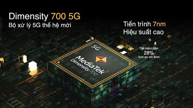 realme ra mắt smartphone 5G đầu tiên tại VN, giá 7.99 triệu đồng - Ảnh 5.