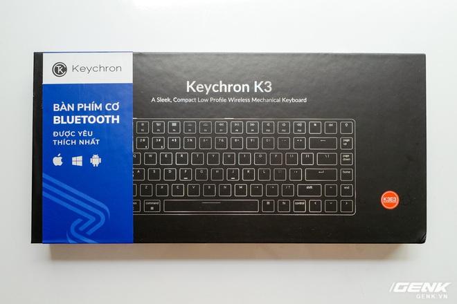 Trên tay Keychron K3 - Bàn phím cơ không dây siêu mỏng, thay được cả switch - Ảnh 1.