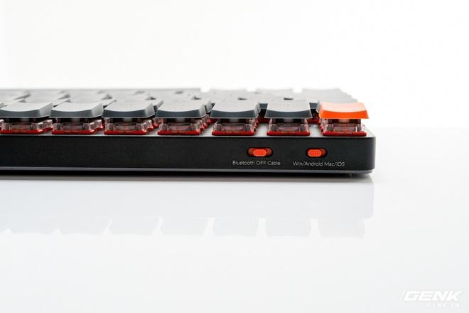 Trên tay Keychron K3 - Bàn phím cơ không dây siêu mỏng, thay được cả switch - Ảnh 10.