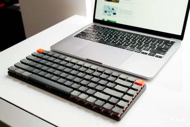 Trên tay Keychron K3 - Bàn phím cơ không dây siêu mỏng, thay được cả switch - Ảnh 7.