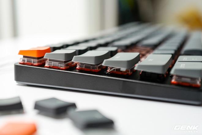 Trên tay Keychron K3 - Bàn phím cơ không dây siêu mỏng, thay được cả switch - Ảnh 19.