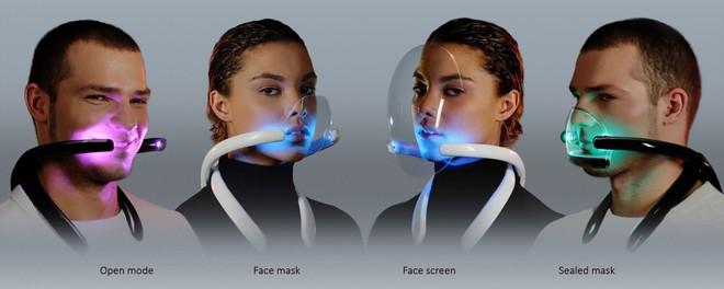 Thiết bị kỳ lạ này sẽ thổi không khí đã thanh lọc vào mặt bạn cả ngày - Ảnh 4.