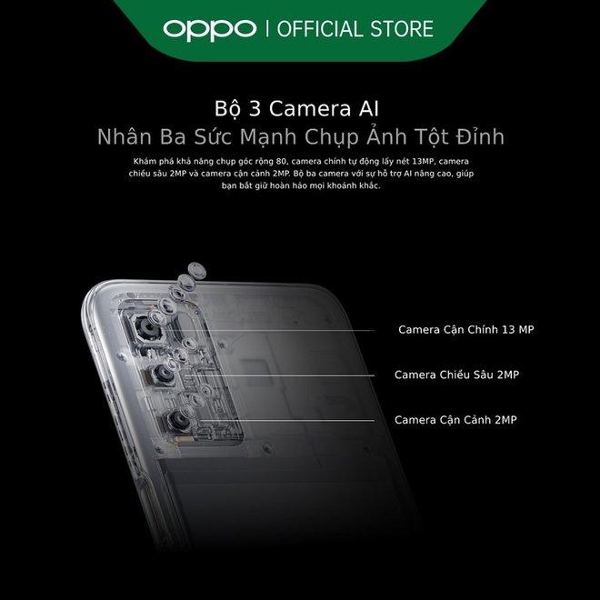 OPPO ra mắt smartphone giá rẻ, pin 5000mAh, giá 4 triệu đồng - Ảnh 2.