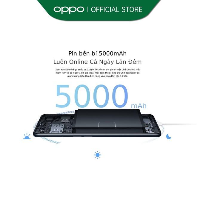 OPPO ra mắt smartphone giá rẻ, pin 5000mAh, giá 4 triệu đồng - Ảnh 3.