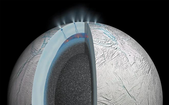 Phát hiện lượng Metan lớn bất thường trên Mặt Trăng của Sao Thổ: Có phải của sự sống ngoài hành tinh? - Ảnh 2.
