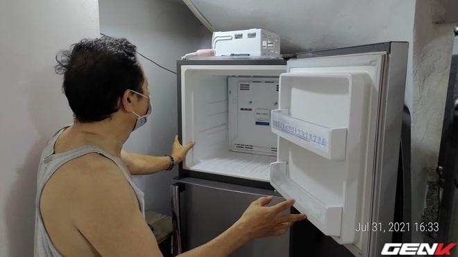 Ở nhà tránh dịch không gọi được thợ mà tủ lạnh đột nhiên không lạnh. Chú hàng xóm bật mí một cách sửa tạm thời cực hiệu quả, dễ dàng vượt qua ngày giãn cách - Ảnh 8.