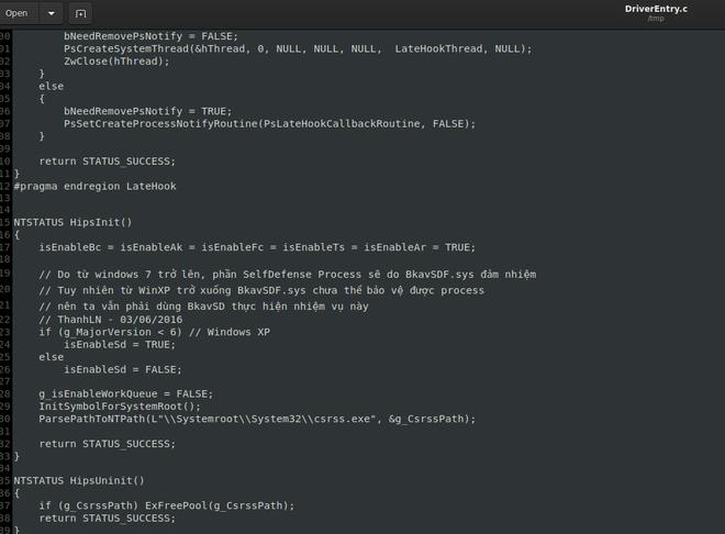 Đại diện BKAV nói về bê bối rò rỉ mã nguồn, log chat: Cái này không ai gọi là hack mà là lộ lọt thông tin - Ảnh 1.