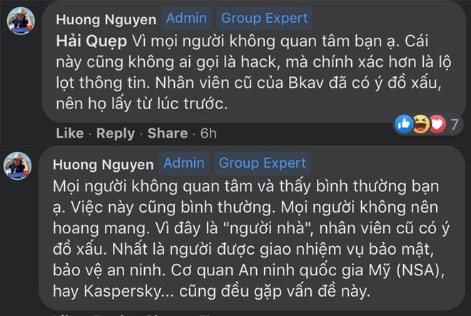 Đại diện BKAV nói về bê bối rò rỉ mã nguồn, log chat: Cái này không ai gọi là hack mà là lộ lọt thông tin - Ảnh 2.