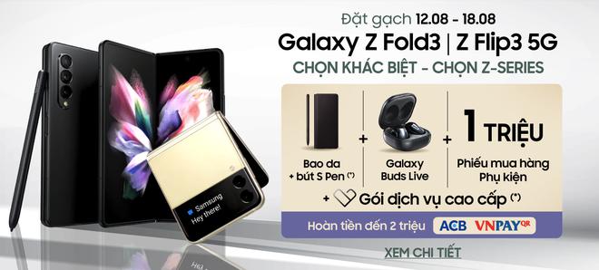 Đi cửa sau với nhà bán lẻ, người dùng có thể mua Galaxy Z Fold3 với giá hời - Ảnh 2.