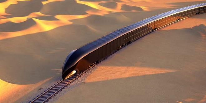 Concept tàu hỏa siêu sang do người thiết kế du thuyền của Steve Jobs sáng tạo, giá hơn 300 triệu USD - Ảnh 1.