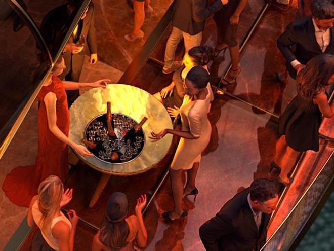 Concept tàu hỏa siêu sang do người thiết kế du thuyền của Steve Jobs sáng tạo, giá hơn 300 triệu USD - Ảnh 4.