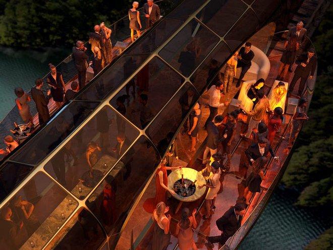 Concept tàu hỏa siêu sang do người thiết kế du thuyền của Steve Jobs sáng tạo, giá hơn 300 triệu USD - Ảnh 8.