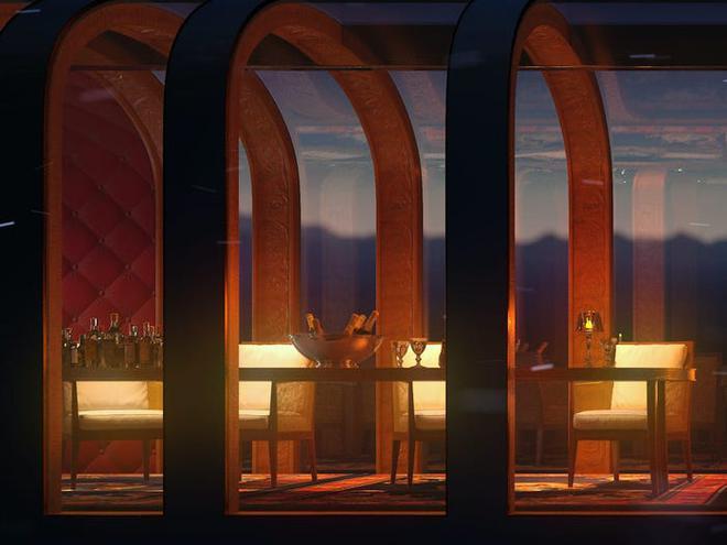 Concept tàu hỏa siêu sang do người thiết kế du thuyền của Steve Jobs sáng tạo, giá hơn 300 triệu USD - Ảnh 16.