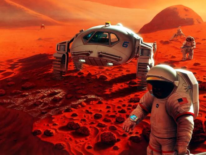 Cùng xem khu tổ hợp Sao Hoả được NASA in 3D để phục vụ nghiên cứu ở Texas - Ảnh 10.