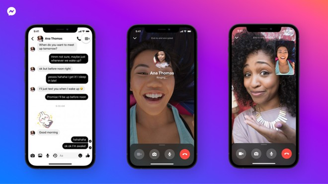 Facebook mã hóa đầu cuối gọi thoại và video Messenger - Ảnh 1.