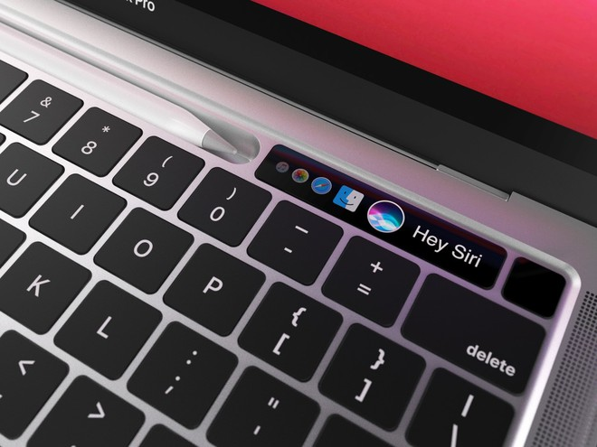 Lộ diện mô hình MacBook Pro với khay chứa bút cảm ứng - Ảnh 3.