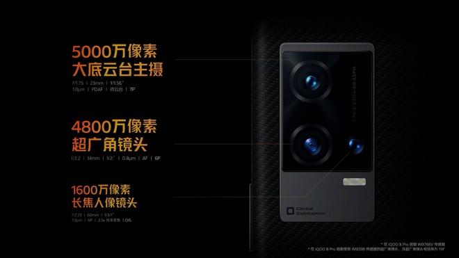 iQOO 8 và 8 Pro ra mắt: Màn hình OLED E5 đầu tiên, Snapdragon 888+, sạc nhanh 120W, giá từ 13.4 triệu đồng - Ảnh 4.