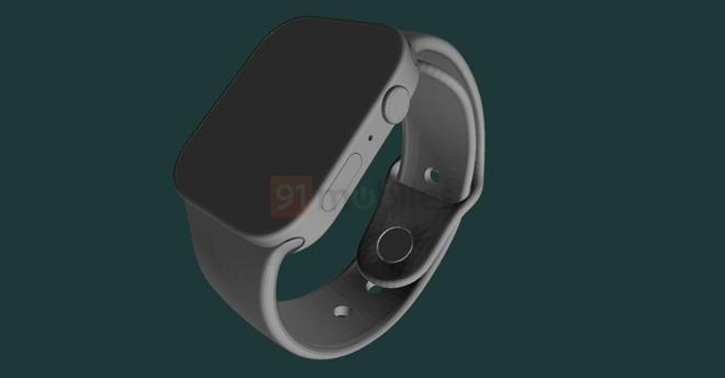 Đây là Apple Watch Series 7: Cạnh phẳng, viền mỏng, màn hình lớn hơn - Ảnh 1.