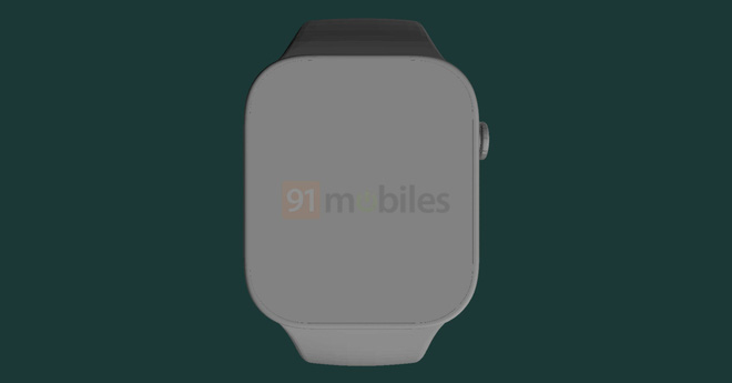 Đây là Apple Watch Series 7: Cạnh phẳng, viền mỏng, màn hình lớn hơn - Ảnh 2.