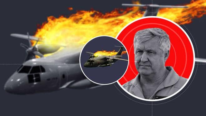 [Video] Hai mẹ con người Nga vô tình quay được toàn cảnh rơi máy bay quân sự kinh hoàng khiến anh hùng nước Nga thiệt mạng - Ảnh 4.