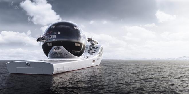 Siêu du thuyền chạy bằng năng lượng hạt nhân này sẽ trở thành trung tâm nghiên cứu khoa học trên biển cả - Ảnh 4.