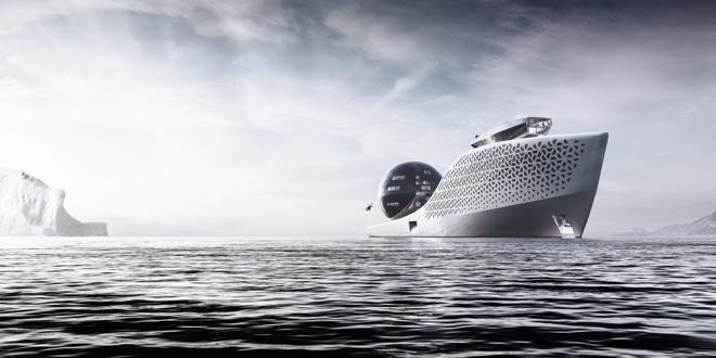 Siêu du thuyền chạy bằng năng lượng hạt nhân này sẽ trở thành trung tâm nghiên cứu khoa học trên biển cả - Ảnh 2.