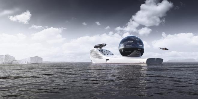 Siêu du thuyền chạy bằng năng lượng hạt nhân này sẽ trở thành trung tâm nghiên cứu khoa học trên biển cả - Ảnh 3.