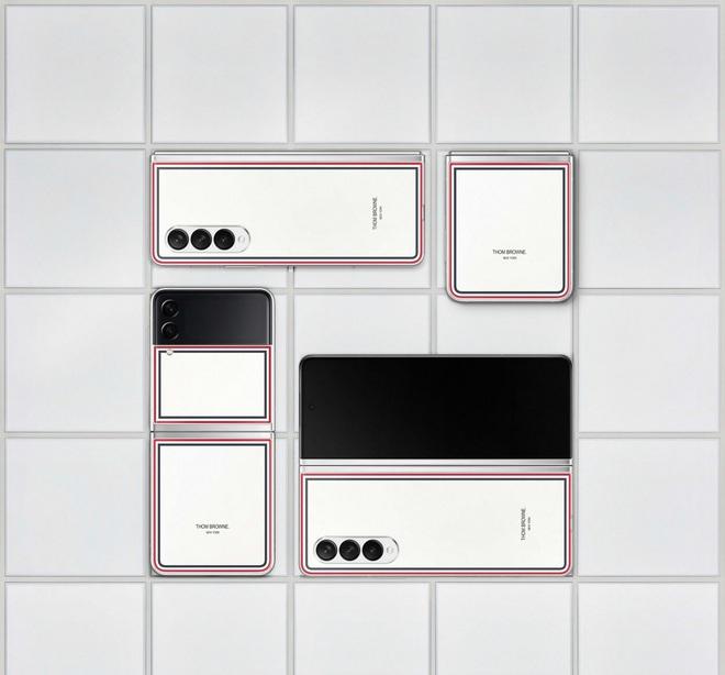 Galaxy Z Fold3 và Z Flip3 phiên bản Thom Browne đặc biệt mở bán tại Việt Nam từ ngày 19/8, giới hạn chỉ 200 máy - Ảnh 4.