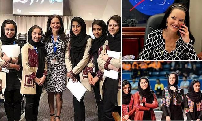 Giải cứu 10 cô gái trong đội tuyển robot của Afghanistan - Ảnh 5.